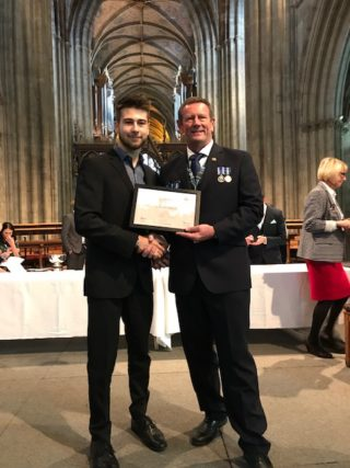 Laszlo – Leadership Award Winner CYPS Awards 19